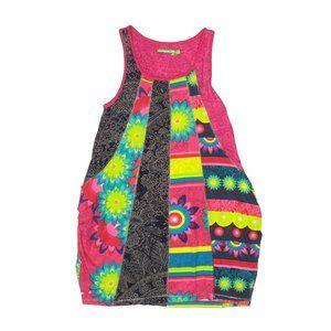 Desigual Girl's Bissau Grafito Tank Dress